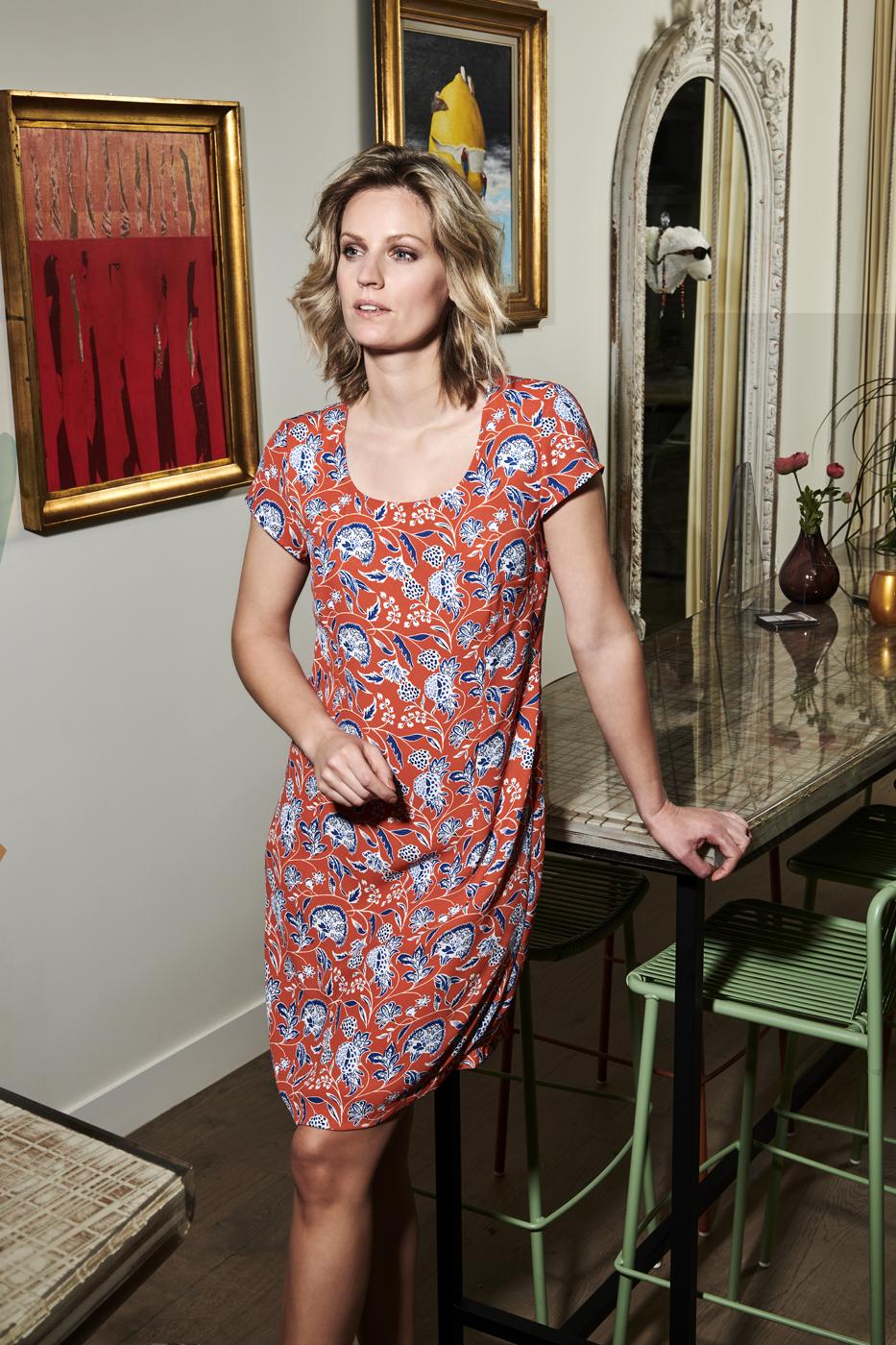 Charlotte Bilzen Comme Ca Dress MINA 37 Red